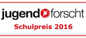 Jugend forscht Schulpreis 2016