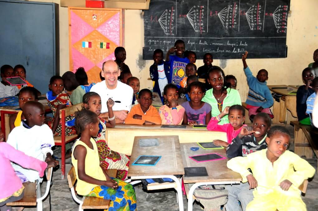 Partnerschule im Senegal