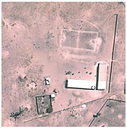 Die Schule heute, Quelle: Google-Earth