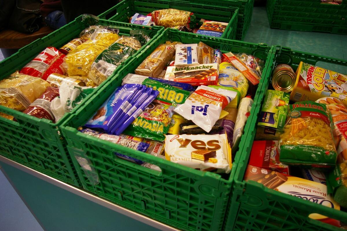 """""""Tafelaktion"""": Lebensmittelspende zu St. Martin"""