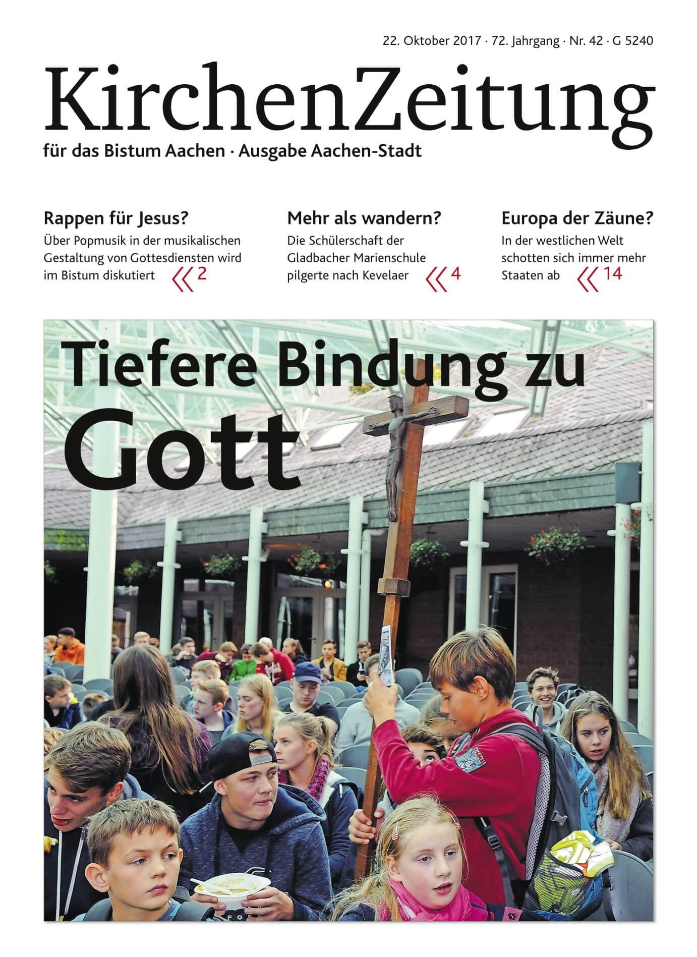 Pressespiegel: Wallfahrt als Titelstory der Kirchenzeitung