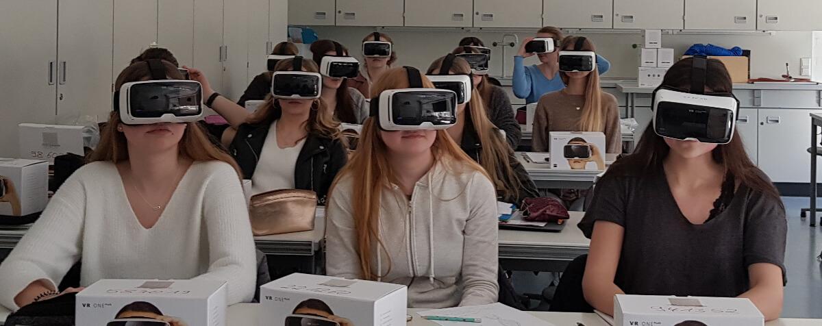 Marienschüler lernen jetzt auch in der virtuellen Realität