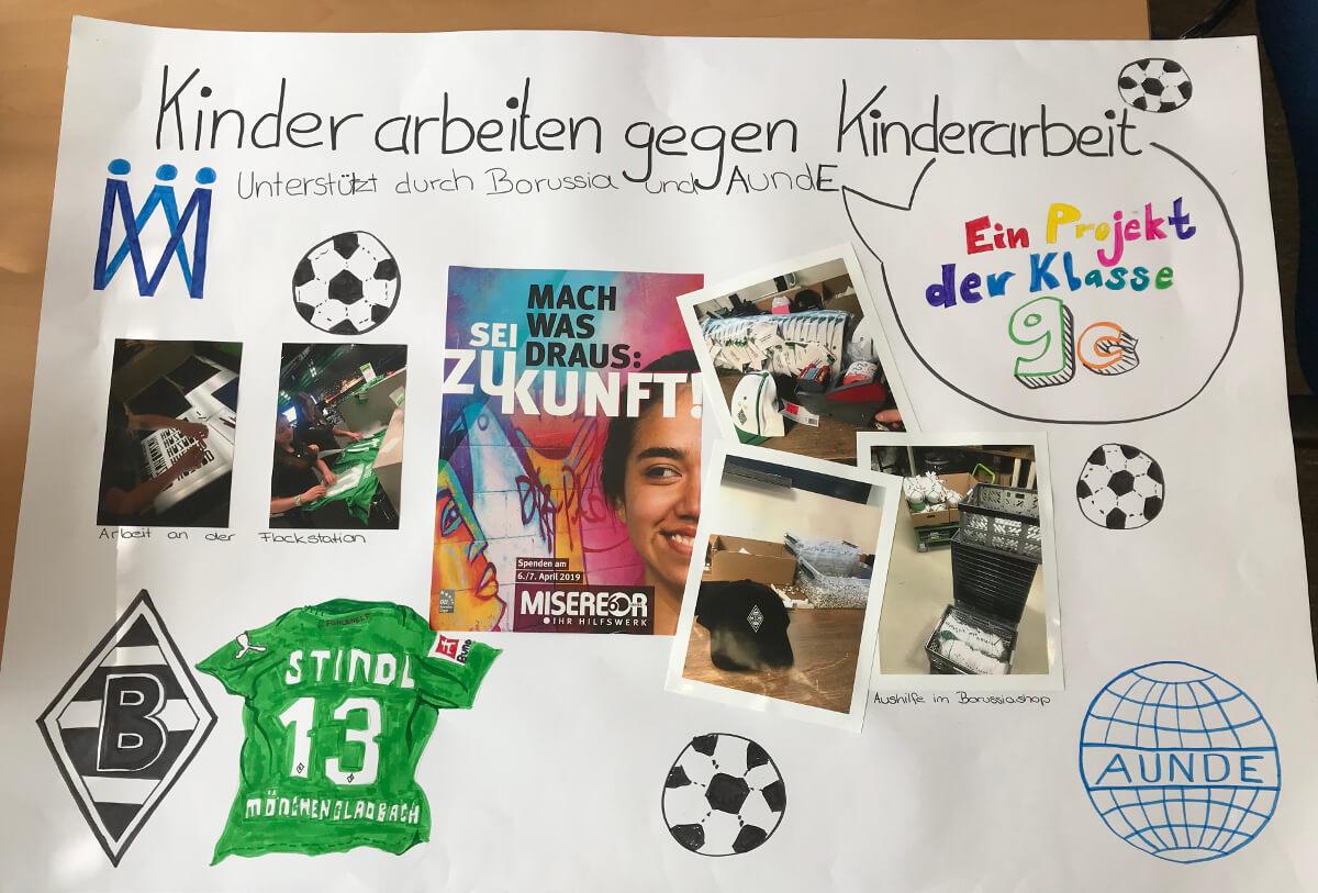 Kinder arbeiten gegen Kinderarbeit – Ein Projekt der Klasse 9c