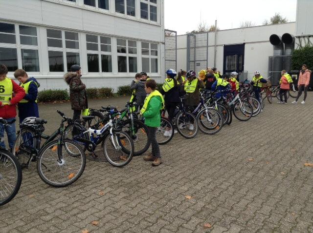 Verkehrserziehung: Jetzt läuft die Fahrrad-Prüfung