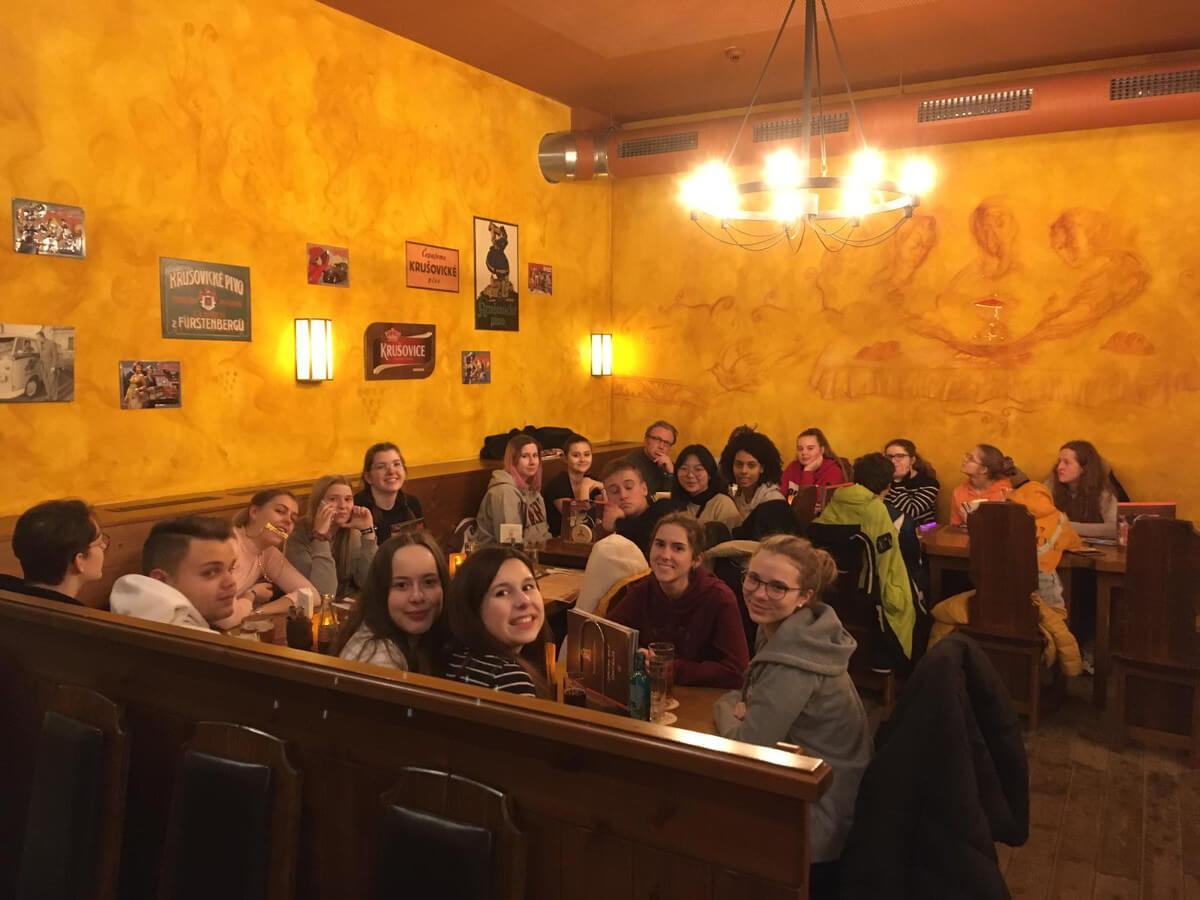 Vom Hauch der Geschichte angeweht – die Theater AG auf Probenfahrt in Leipzig