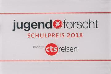 Jugend forscht Schulpreis 2018