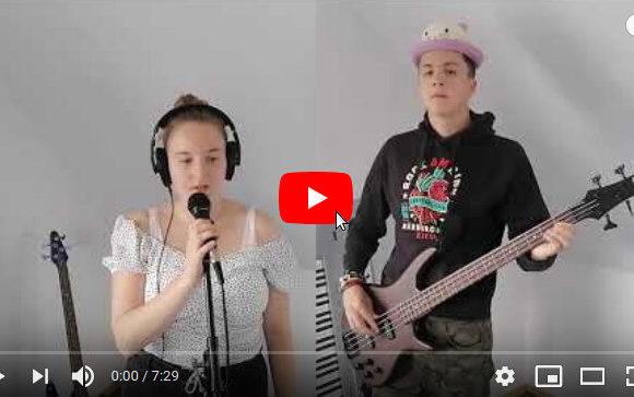 """Abschlussprojekt """"Sweet Caroline"""" der Landesmusikakademie NRW"""