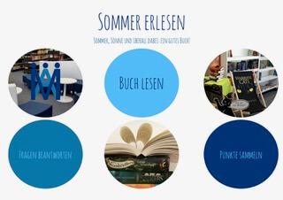 Sommer erlesen – Lesewettbewerb in den Sommerferien