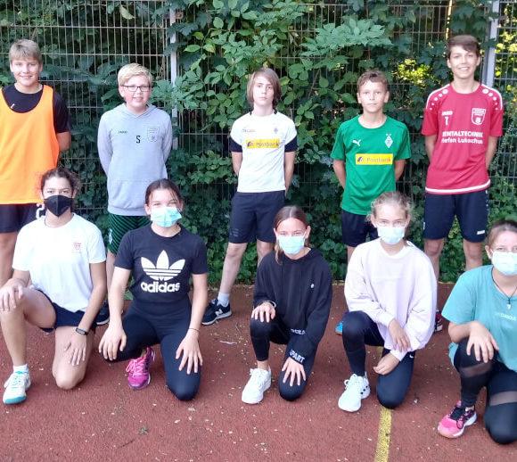 """7b nimmt am Fußball-Wettbewerb von """"Jugend trainiert für Olympia"""" teil"""